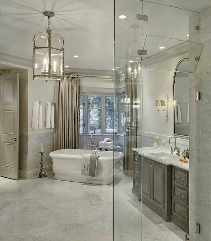 Gray Master Bathroom Ideas: 541 Best Images About Dream Home: Bathroom On Pinterest