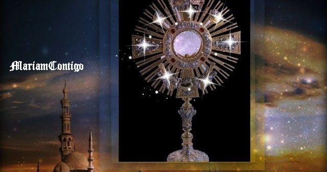 SANTA MISA  Domingo XII del Tiempo Ordinario 19 de junio de 2016 Desde la parroquia de Santa Teresa del Niño Jesús en Barcelona. Preside: Rvdo. Xavier Pagès, pbro.  En los altares de la Eucaristía siempre, porque en ellos perpetúa su sacrificio, el Padre complacido recibe el perfume   de gloria que se eleva hacia él de la tierra, en todos los instantes, realizándose lo que dijo el profeta. - See more at:http://mariamcontigo.blogspot.com/2016/06/santa-misa-para-hoy-190616.html