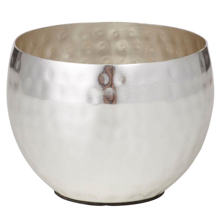 Malini Tealight Holder   Silver   6x8cm by Decor Emporium on THEHOME.COM.AU