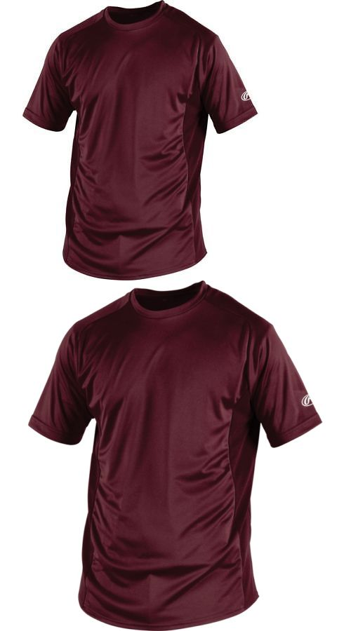 Baseball Shirts and Jerseys 181348  Rawlings Crew Neck Youth Short Sleeve  Prodri Shirt -  BUY IT NOW ONLY   18.9 on eBay! 6039263bc