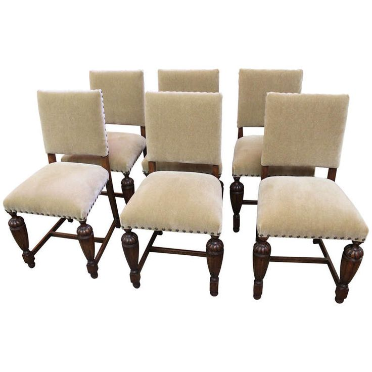 1920s English Tudor Style Dining Chairs Modern dining room