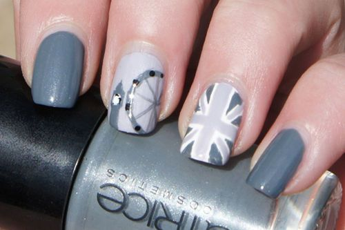 London Nail-art | We Heart It
