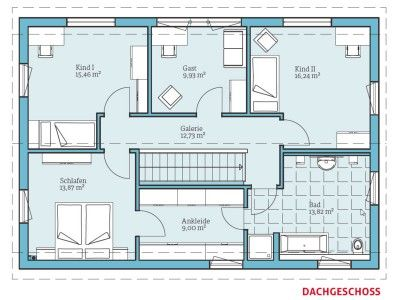 35 best images about plan on pinterest 150 haus and for Plan einfamilienhaus