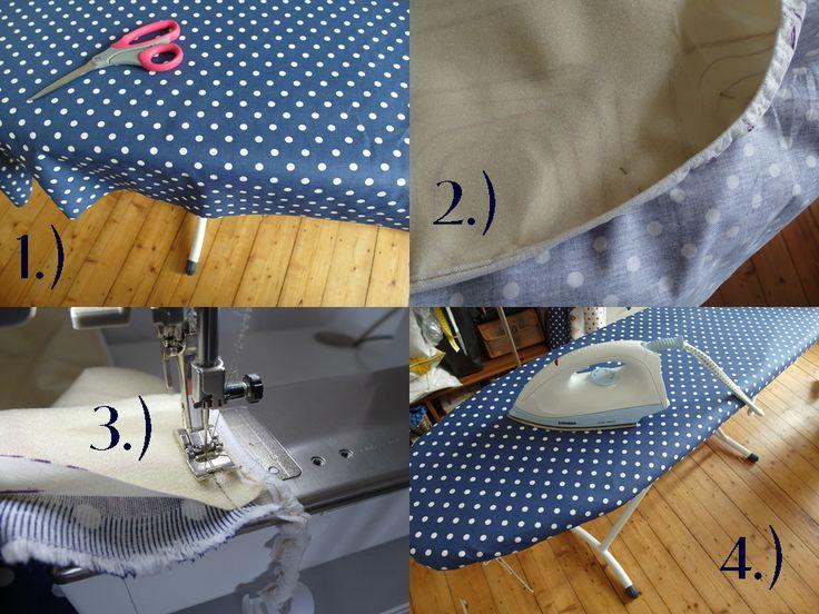 Wer designt eigentlich Bügelbrettbezüge bzw. warum sind die meisten eher etwas geschmacklos.... ?! (Ich hoffe, ich trete hier niemandem zu nahe :-) ) Ich konnte es nicht mehr sehen und brauchte dri...