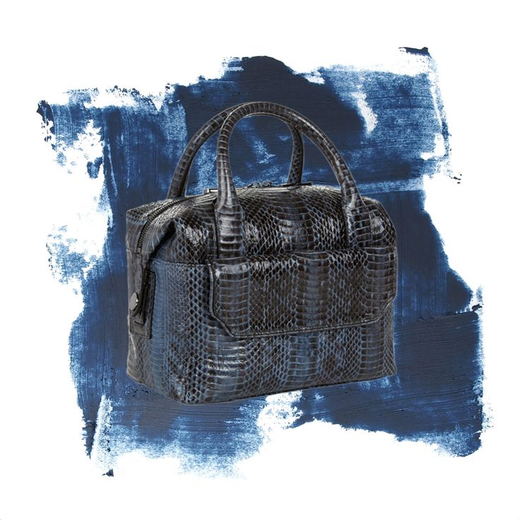 Into The Blue   the Daniela in Denim Ayers