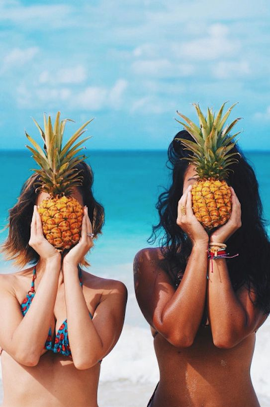 Beach and Fruit pics