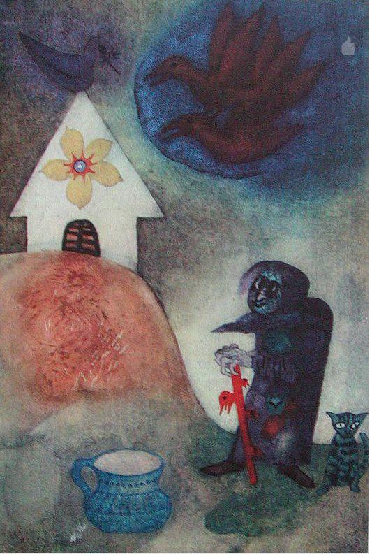 Czech illustration – Arnošt Karásek