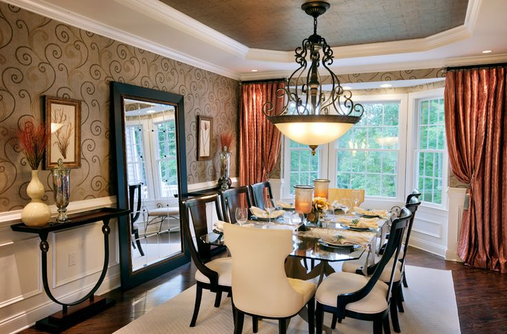 Toll brothers the hills at lagrange columbia dining room for S s columbia dining room