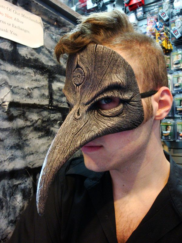 My mom bought me a really elegant mask from goodwill that is a hawk/bird beak mask. I am starting to realize my mask collection is growing and I feel as if that is a great thing and when I get older I want to make a shadowbox or shelve for them