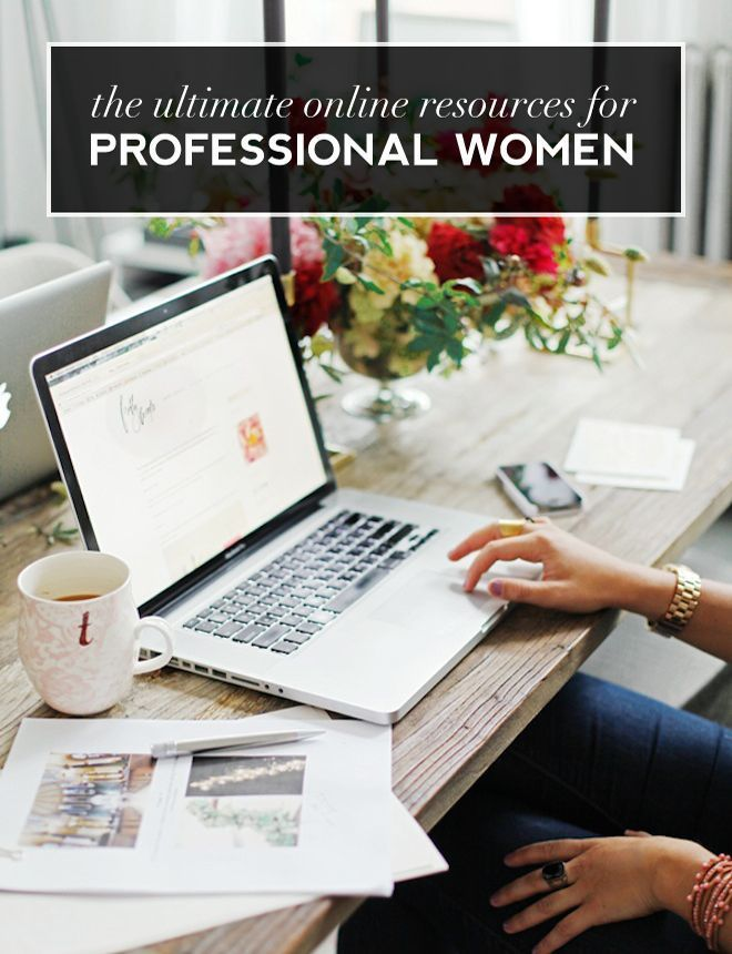 The Best Online Resources for Professional Women