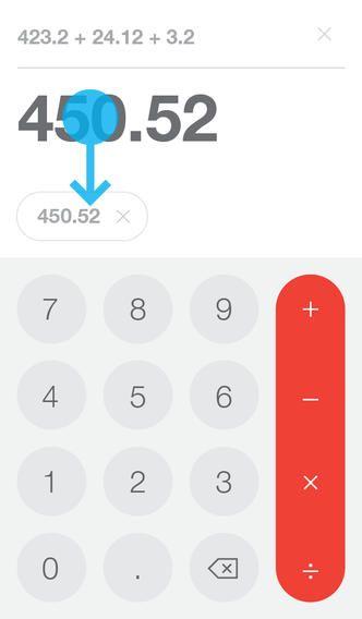 Sumhold – un calculator util pentru platforma iOS! #mobile #ui #ux #design #inspiration #navigation #app #interface #ios #android #flat