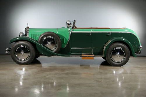 mercedes benz 630k la baule transformable for sale 1928. Black Bedroom Furniture Sets. Home Design Ideas