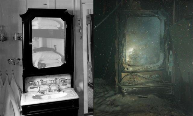 Undersea Photos of the Titanic Wreckage