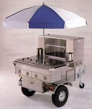 The Hot Dog Cart / Trailer - Professional
