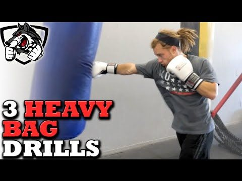3 Excellent Heavy Bag Drills for MMA, Muay Thai, & Boxing - YouTube