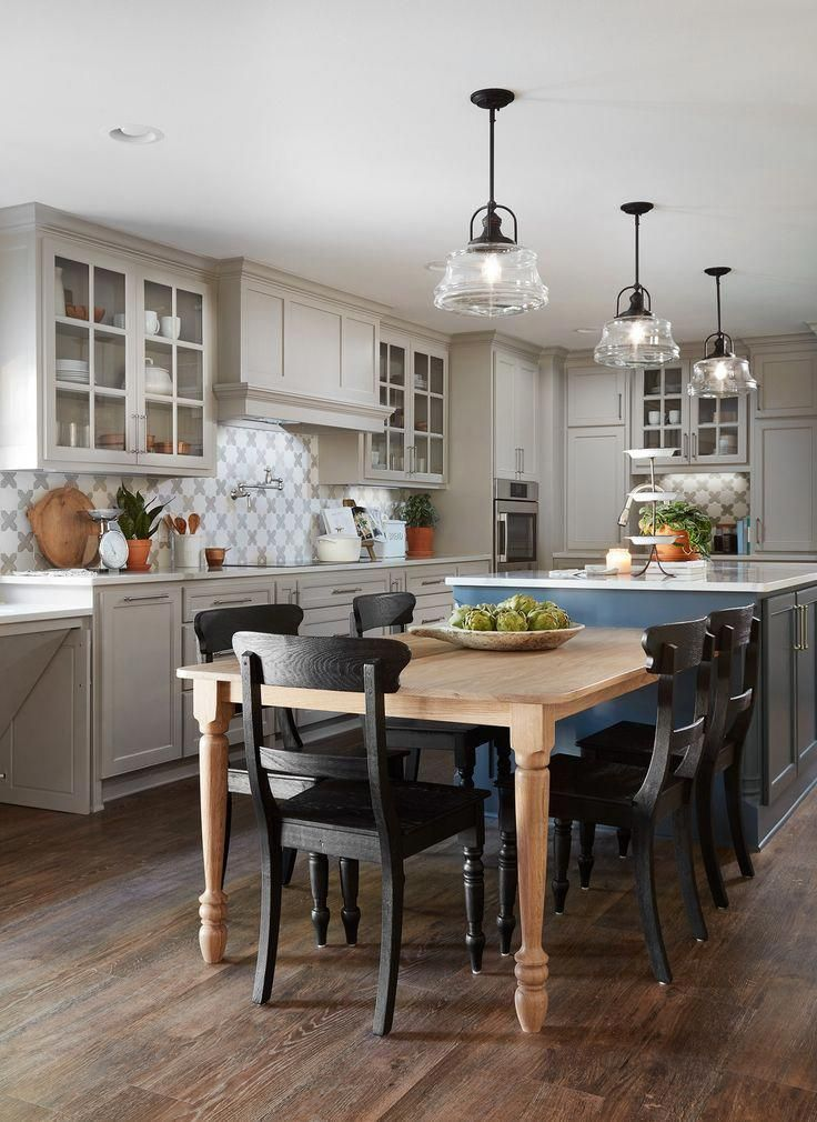 Episode 10 The Copp House Magnolia Kitchen Island Dining Table Kitchen Layout Kitchen Design
