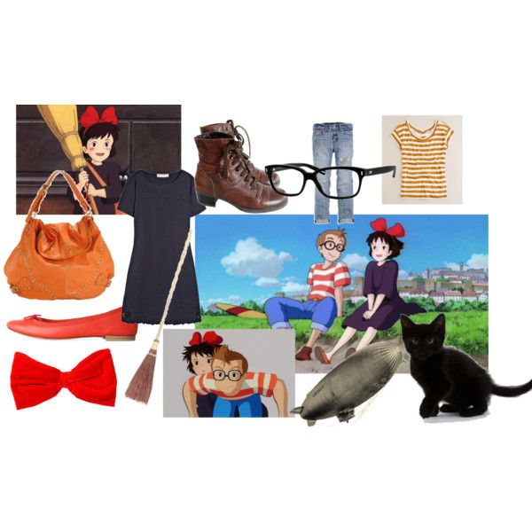 """Kiki's Delivery Service ♥"" by sheepgirl13 on Polyvore"