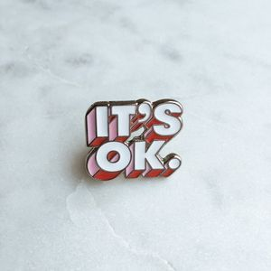 I´M OK pin by GhostGoods • jäll & tofta • Tictail