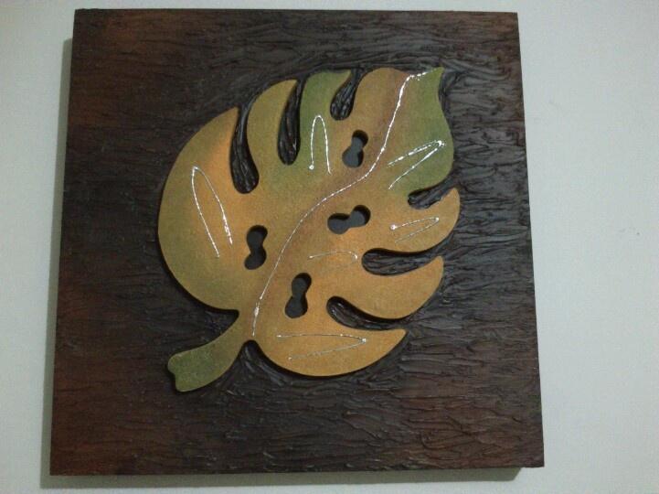 Cuadro en madera