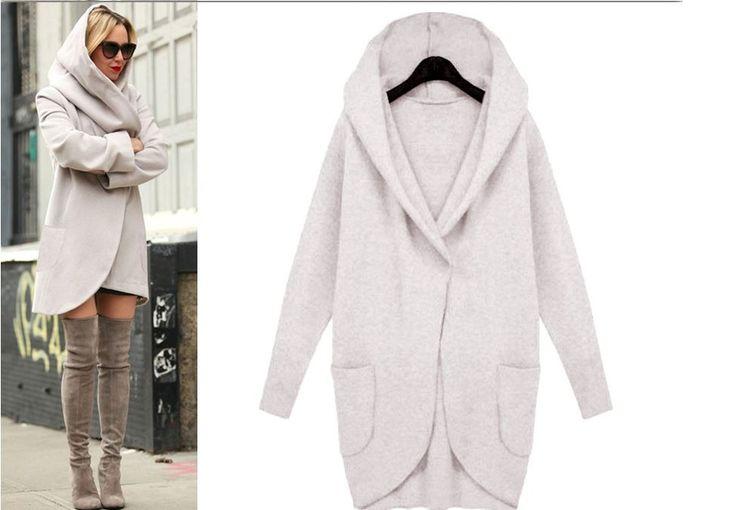 Dámský oversize kabát s kapucí šedý – Velikost L Na tento produkt se vztahuje nejen zajímavá sleva, ale také poštovné zdarma! Využij této výhodné nabídky a ušetři na poštovném, stejně jako to udělalo již velké …