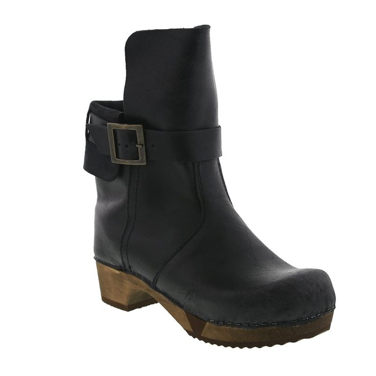Sanita Women's Lexi Dress Boots. Width: Regular. Heel Height: 2 in. Country of Origen: Poland. Material: Pull Up Leather.