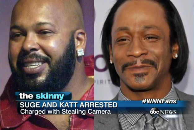 Suge Knight And Katt Williams Arrested [News]- http://getmybuzzup.com/wp-content/uploads/2014/10/suge-knight.jpg- http://getmybuzzup.com/suge-knight-and-katt-williams/- Suge Knight And Katt Williams Arrested Former music mogul Suge Knight and comedian Katt Williams was arrested for allegedly stealing photographers camera. Enjoy this video stream below after the jump. Follow me: Getmybuzzup on Twitter | Getmybuzzup on Facebook | Getmybuzzup on Google...- #KattWilliams,