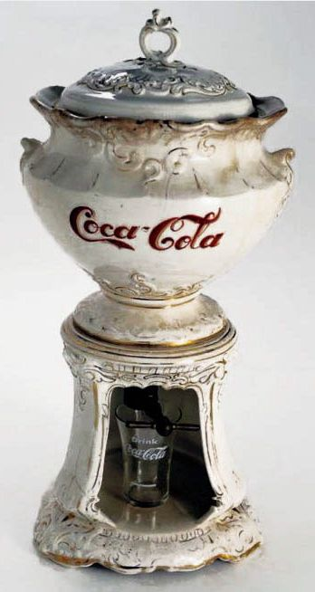 Antique Coke Dispenser … c. 1890 (Back in the days when one of the ingredients…Vicki Hill Stage