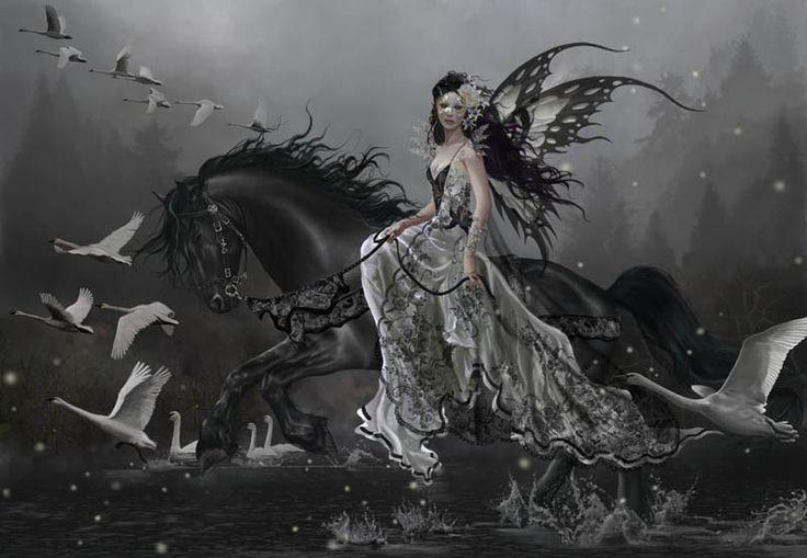 Lamentation of Swans ~ Nane Thomas