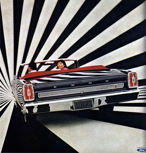 Ford Fairlane convertible, 1966.