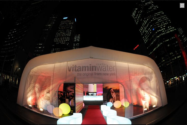 #Vitamin Water #Sampling Staion  #Inflatable #Temporary #Structure #Events #Inflatable-structure  http://www.dryspace.ae    engage@dryspace.ae