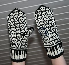 Let's Rock mittens pattern by Jorid Linvik