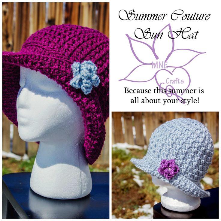 MNE Crafts: Summer Couture Sun Hat
