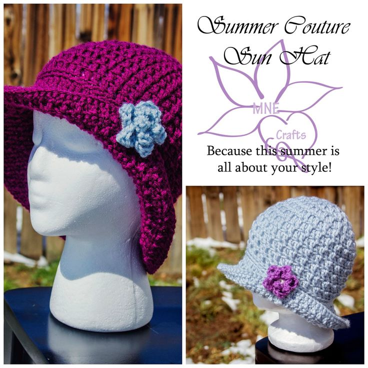 251 best images about Crocheting - Hats on Pinterest ...