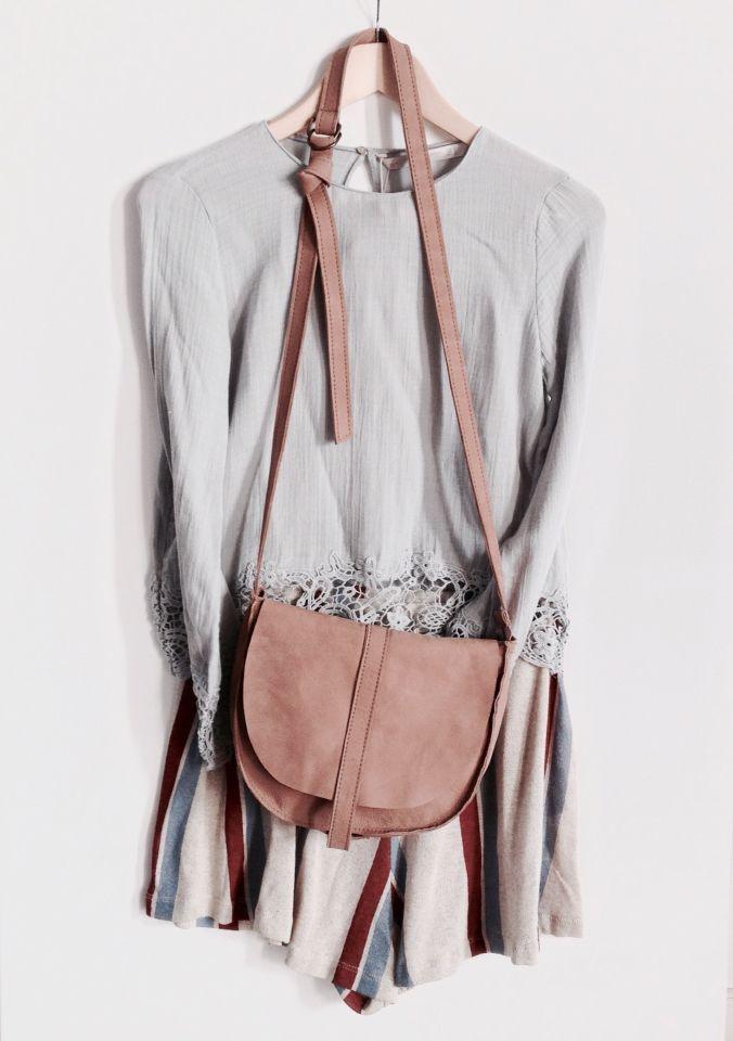 Bag Kiki in de kleur poeder
