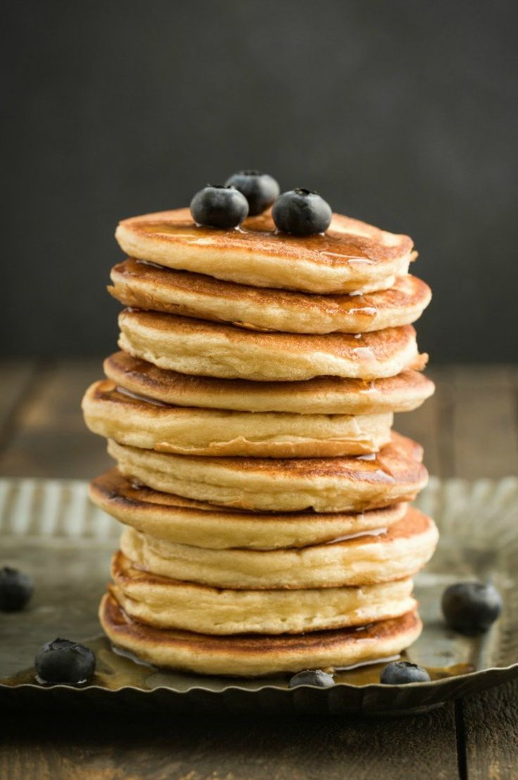 These are the yummiest fluffiest Thermomix pancakes ever and are so easy to make. All you do is add the ingredients to the Thermomix bowl, mix it up and the