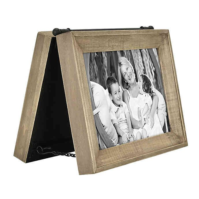 Bee Willow Home 2 Photo 5 Inch X 7 Inch Hinged Frame In Brown In 2020 Hinged Frame Hinged Picture Frame Framed Bee