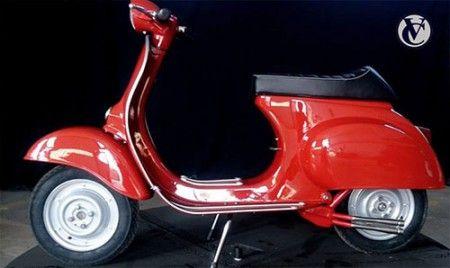 Vespa v50 Special: Rosso Corallo 880