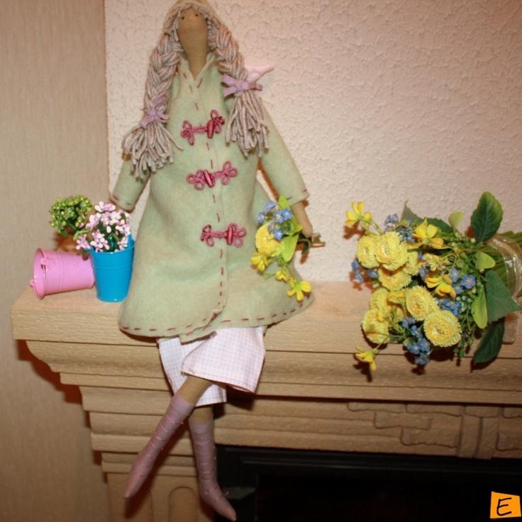 Куклы - Тильда Осенний Ангел | Eksklyuziff.com