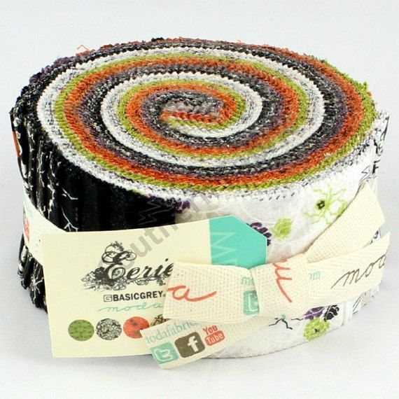 Eerie Halloween Jelly Roll By Basic Grey For By