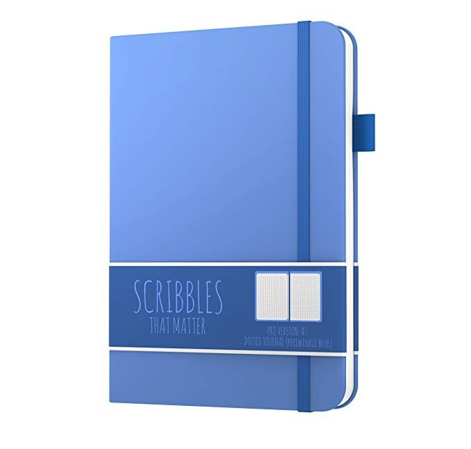 Scribbles That Matter Dotted Journal Notebook Diary A5 Pro Version Elastic B