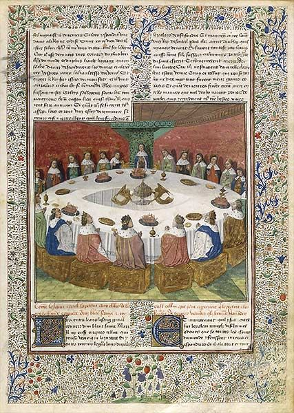 51 best images about arthur la table ronde et les - La table ronde du roi arthur ...