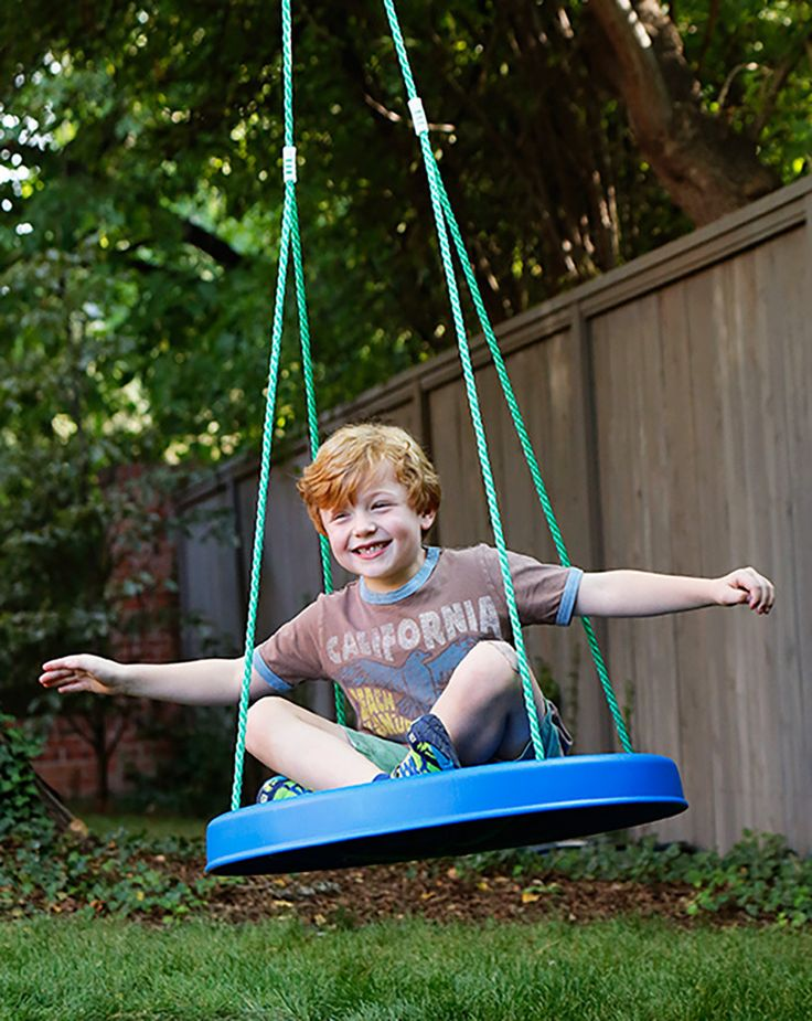 Best outdoor toys for kids: Sky Saucer swing at Fat Brain Toys