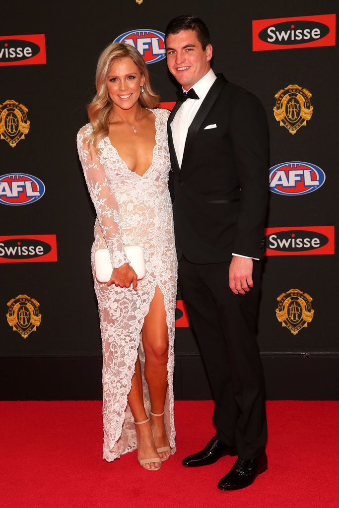 Tom Rockliff, Brisbane Lions in the Montgomerie Black Tux: http://www.mjbale.com/mens-suits/tuxedos/montgomerie-black-tux-22612