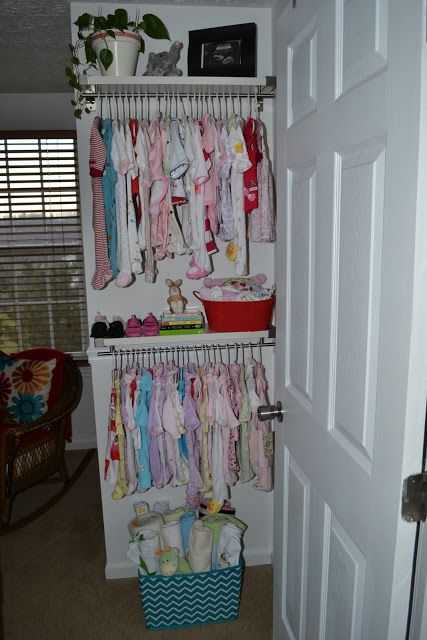 short on closet space- baby nursery