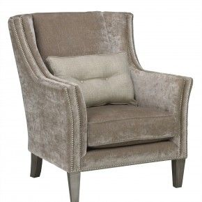 Living Room Accent Furniture Stylish Gray Velvet Upholstered Chairs With Chic Cushions As Inspiring Furnishing Designs