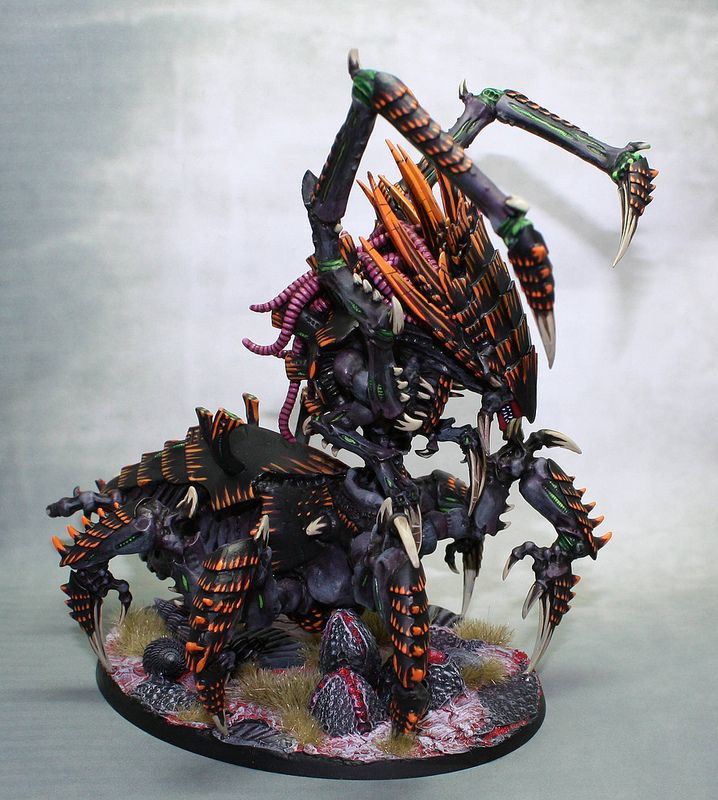 All sizes | Daggoth Tyranid Hive Matriarx | Flickr - Photo Sharing!