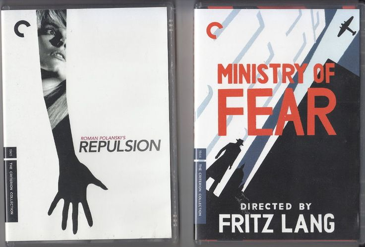 REPULSION with booklet. directed by Roman Polanski. with Catherine Deneuve. directed by Fritz Lang. MINISTRY OF FEAR. Region code 1 plays on all US DVD players. in MINT condition. | eBay!