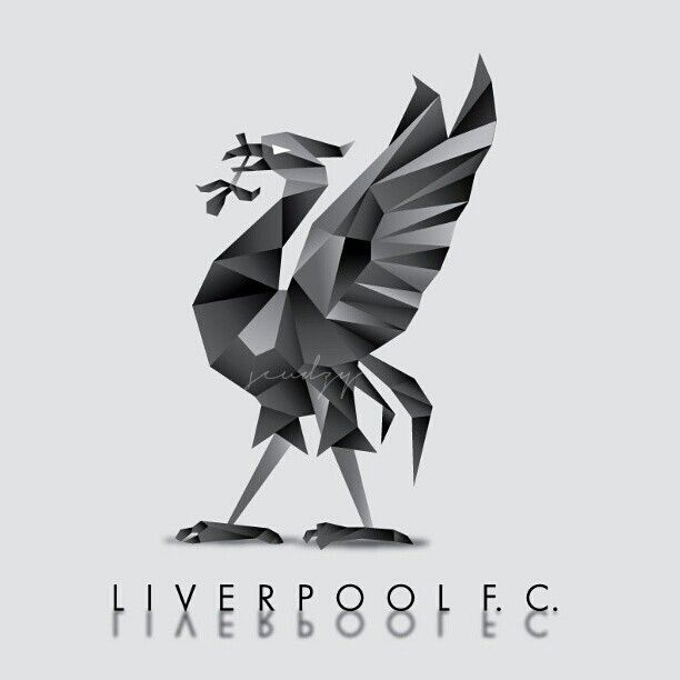 Digital Liverbird in Grey http://instagram.com/scudzys