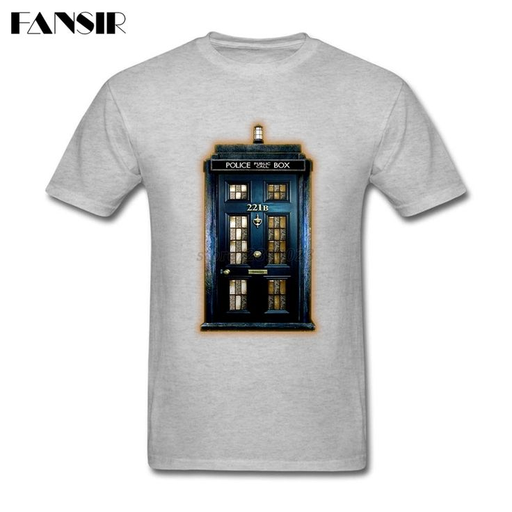 >> Click to Buy << Big Size Phone Box  221B Sherlock Holmes Homme Tee Shirts For Men Short Sleeve Cotton Custom Men T-shirt Teenage Tops Clothing #Affiliate