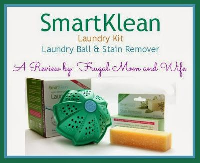 Frugal Mom And Wife Smartklean Laundry Kit Laundry Ball